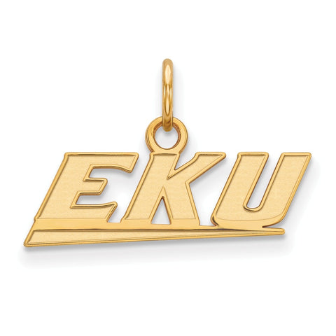 10ky LogoArt Eastern Kentucky University XS Pendant