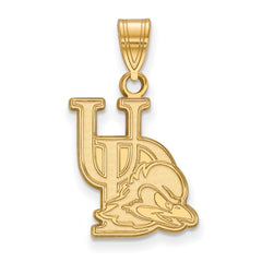 14ky LogoArt University of Delaware Medium Pendant