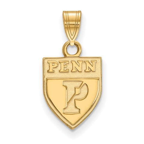 10ky LogoArt University of Pennsylvania Small Pendant