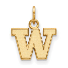 10ky LogoArt University of Washington XS Pendant