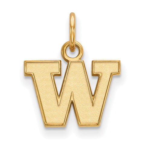 14ky LogoArt University of Washington XS Pendant
