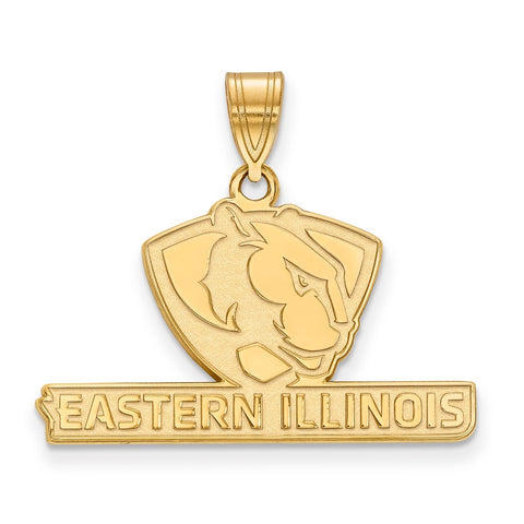 14ky LogoArt Eastern Illinois University Medium Pendant