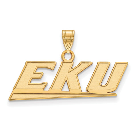 10ky LogoArt Eastern Kentucky University Small Pendant