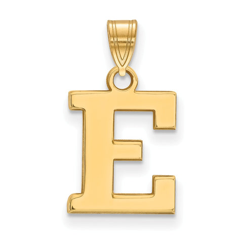14ky LogoArt Eastern Michigan University Small Pendant