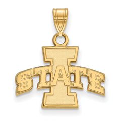 10ky LogoArt Iowa State University Small Pendant