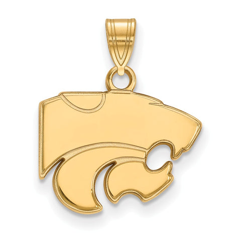 10ky LogoArt Kansas State University Small Pendant