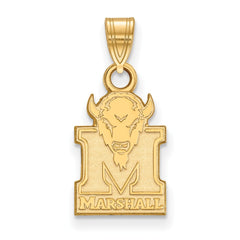 10ky LogoArt Marshall University Small Pendant