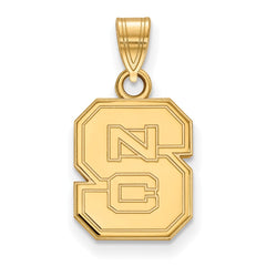 10ky LogoArt North Carolina State University Small Pendant