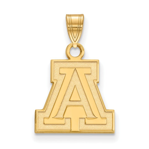 10ky LogoArt University of Arizona Small Pendant