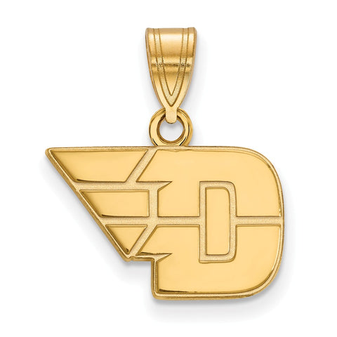 14ky LogoArt University of Dayton Small Pendant