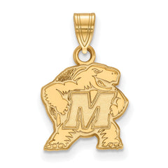 10ky LogoArt University of Maryland Small Pendant