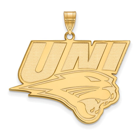 10ky LogoArt University of Northern Iowa XL Pendant