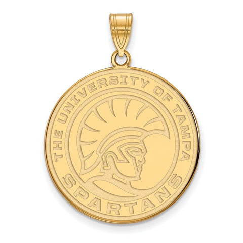 14ky LogoArt University of Tampa XL Pendant