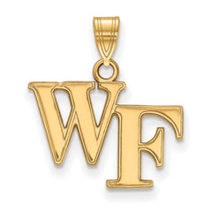 10ky LogoArt Wake Forest University Small Pendant