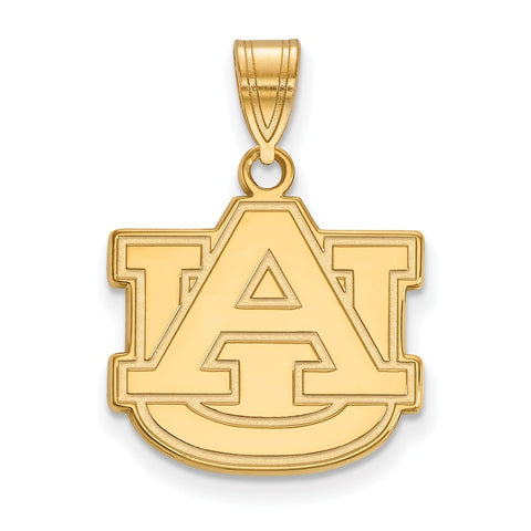 10ky LogoArt Auburn University Medium Pendant