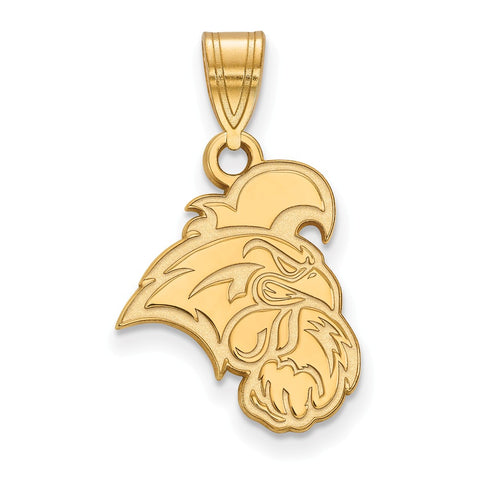 10k Yellow Gold Logoart Coastal Carolina University Chanticleers Medium Pendant