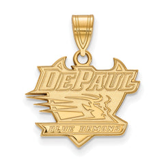 10ky LogoArt DePaul University Medium Pendant