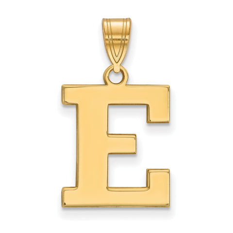14ky LogoArt Eastern Michigan University Medium Pendant