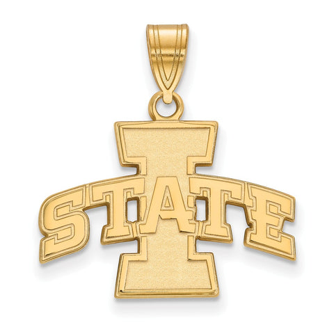 10ky LogoArt Iowa State University Medium Pendant