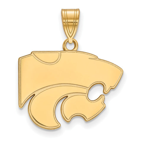 10ky LogoArt Kansas State University Medium Pendant