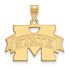 10ky LogoArt Mississippi State University Medium Pendant