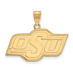 10ky LogoArt Oklahoma State University Medium Pendant