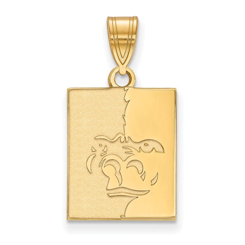 10ky LogoArt Pittsburg State University Medium Pendant