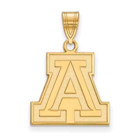 10ky LogoArt University of Arizona Medium Pendant