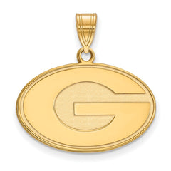 10ky LogoArt University of Georgia Medium Pendant