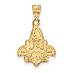 10ky LogoArt University of New Orleans Large Pendant