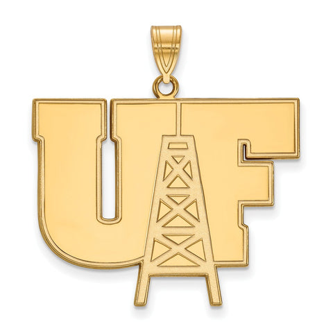 14ky LogoArt University of Findlay XL Pendant