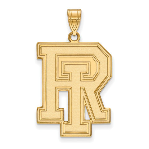 14ky LogoArt University of Rhode Island XL Pendant