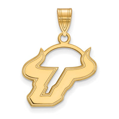 10ky LogoArt University of South Florida Medium Pendant