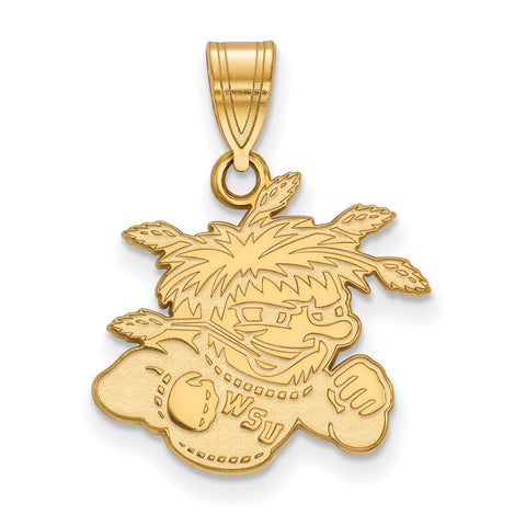 14ky LogoArt Wichita State University Medium Pendant