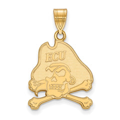 10ky LogoArt East Carolina University Large Pendant