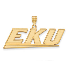 10ky LogoArt Eastern Kentucky University Large Pendant