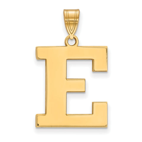 14ky LogoArt Eastern Michigan University Large Pendant