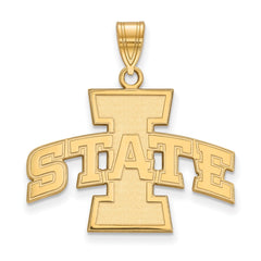 10ky LogoArt Iowa State University Large Pendant