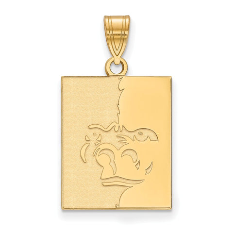 14ky LogoArt Pittsburg State University Large Pendant