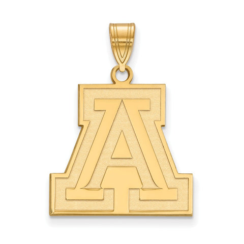 10ky LogoArt University of Arizona Large Pendant