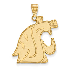 14ky LogoArt Washington State XL Pendant