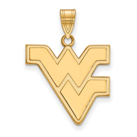 10ky LogoArt West Virginia University Large Pendant
