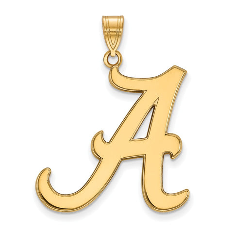 10ky LogoArt University of Alabama XL Pendant