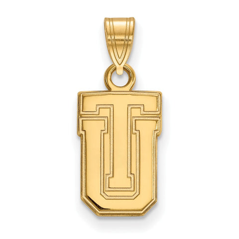 10ky LogoArt The University of Tulsa Small Pendant