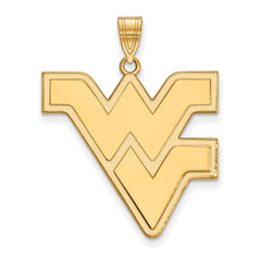 10ky LogoArt West Virginia University XL Pendant