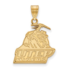 10ky LogoArt The University of Texas at El Paso Large Pendant
