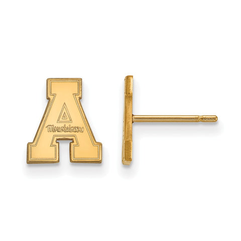 10ky LogoArt Appalachian State University XS Post Earrings