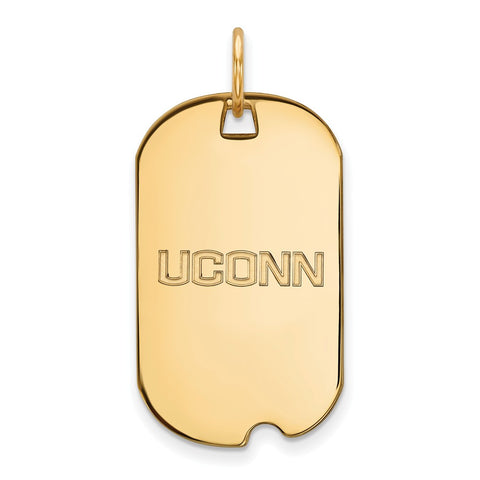 14ky University of Connecticut Small Dog Tag