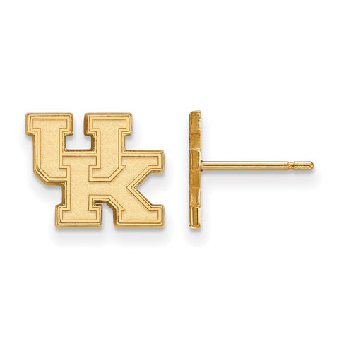 10ky LogoArt University of Kentucky XS Post Earrings