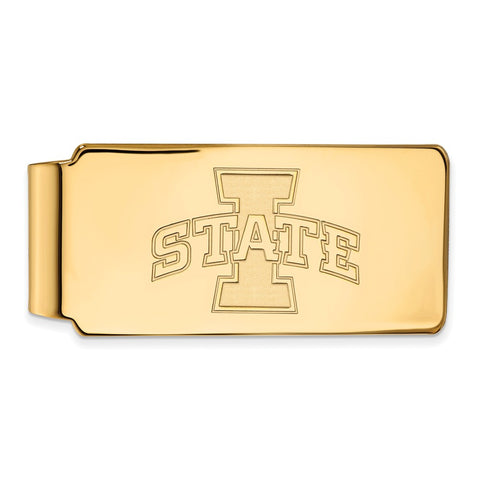 10ky LogoArt Iowa State University Money Clip